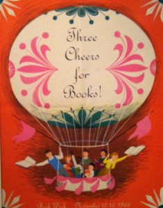 Childrens Book Week Poster Adrienne Adams 1963