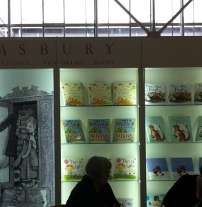 My book on the Bloomsbury stand!