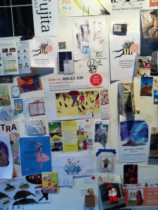 Illustrator's wall